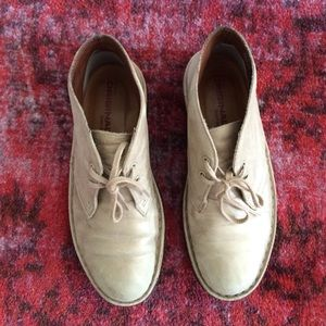 Clarks Boots - Gold Clarks Desert Booties