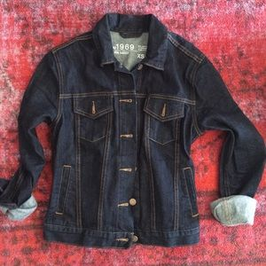 GAP Jackets & Blazers - Gap dark denim jacket