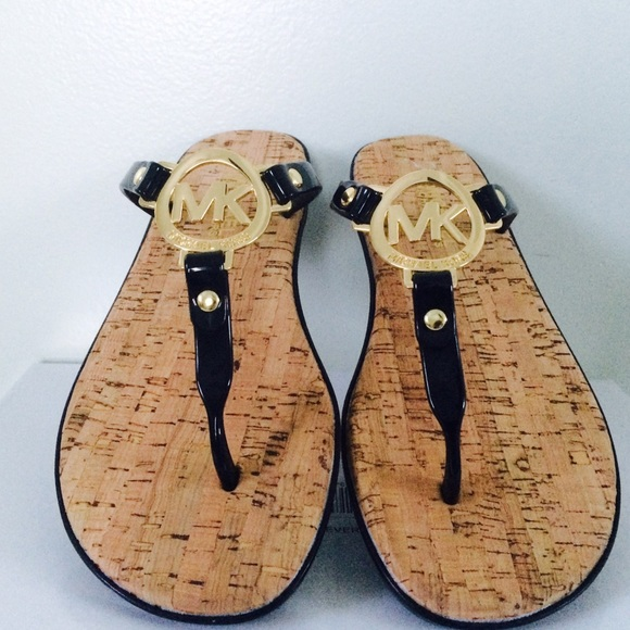 aaa6b99495e Last chance ladies...Michael Kors cork sandals