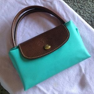 Longchamp Le Pliage Small Tote - Blue Lagoon