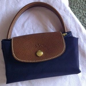 Longchamp Le Pliage Small Tote - Biliberry