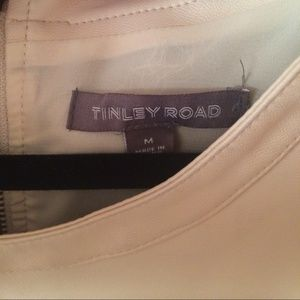 Tinley Road Tops - Tinley Road vegan leather tee
