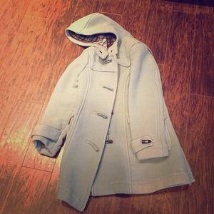 Old navy blue coat size small