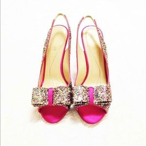 kate spade Shoes - NEW Kate Spade Pumps - Charm Glitter