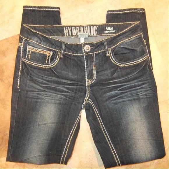 ee2ffa2291a NEW Hydraulic Vikki Super Skinny Jeans 11 12