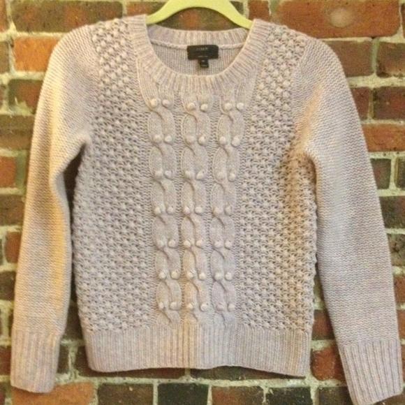 d1537fa9ffc J. Crew Sweaters - J. Crew Handknit Popcorn Sweater