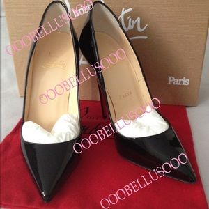 💯 Authentic Christian Louboutin So Kate 120mm 36