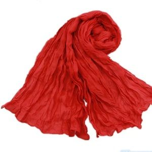 Host PickRed Chiffon Scarf