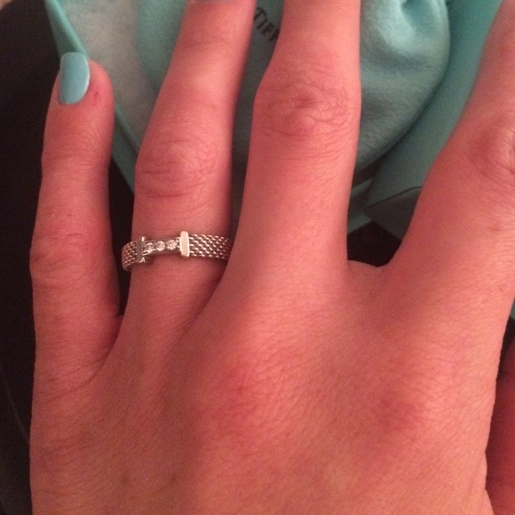 10 Off Tiffany Amp Co Jewelry Tiffany Somerset Ring