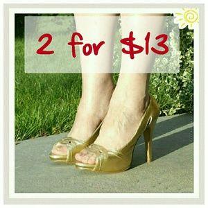 Qupid Shoes - 💛🎀 SALE 🌷💚 Angie peep toe pumps sandals
