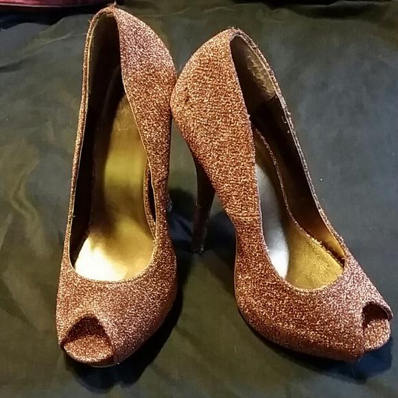 Sheikh Shoes Copper Color High Heels Poshmark