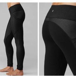 01c130778 lululemon athletica Pants - Lululemon Running Full Length Two Toned Leggings