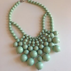 Gorgeous mint necklace