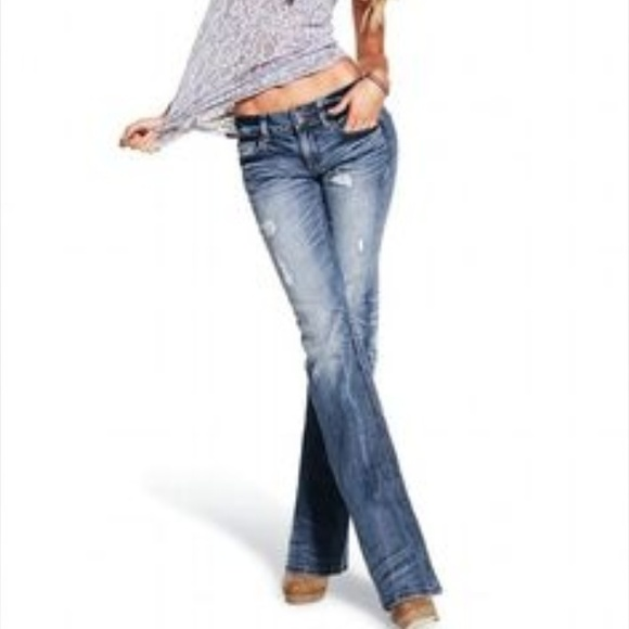 97% off Victoria's Secret Denim - VS Hipster jeans from Anna's ...
