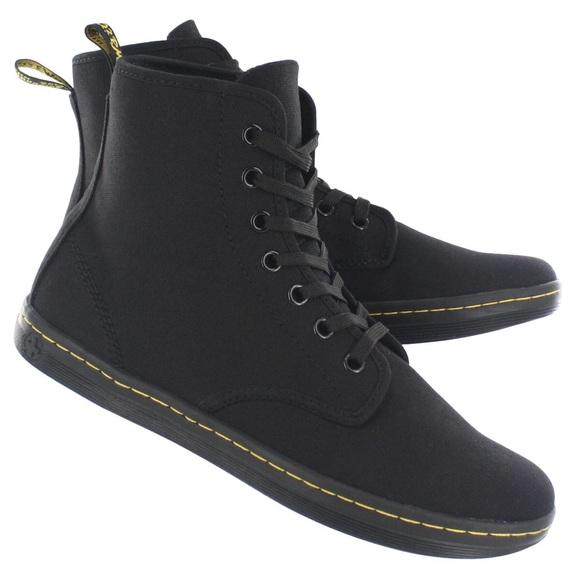 Dr Martens High Top Black Shoes