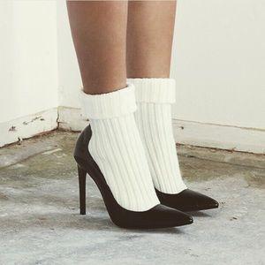 Brand new sock heels 👉🚫read description 🚫