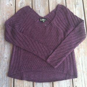 ⭐️SALE⭐️New Sam Edelman High/low V neck sweater