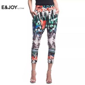 Pants - Printed pattern pants
