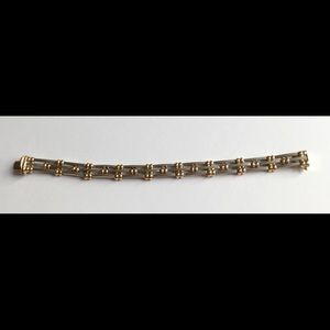 Jewelry - Sterling Silver and 14K Gold Braclet