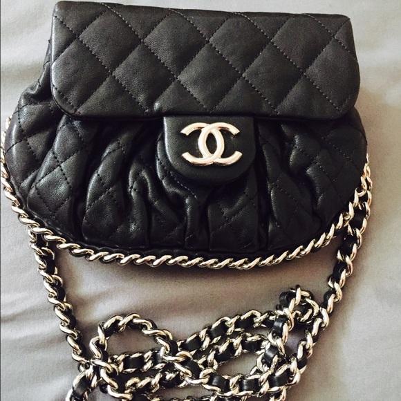 54407c02491f CHANEL Handbags - %100 Authentic Chanel chain around