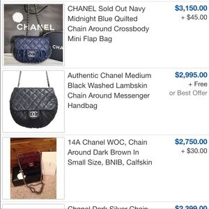 be47d345ac63 CHANEL Bags | 100 Authentic Chain Around | Poshmark