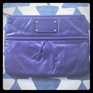 Marc Jacobs Clutches & Wallets - Marc Jacobs Designer Genuine Leather Purple Clutch