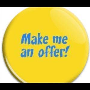 MAKE ME AN OFFER 😀