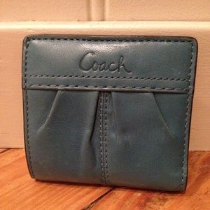 Coach Handbags - Leather Mini Coach Wallet