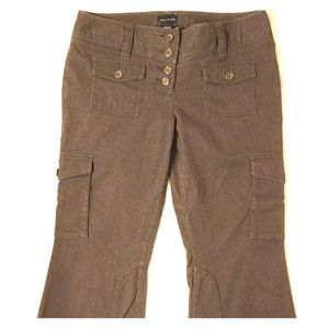 The Limited Pants - The Limited - Drew Fit Pants - brown