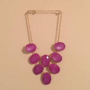 Purple bubble necklace!