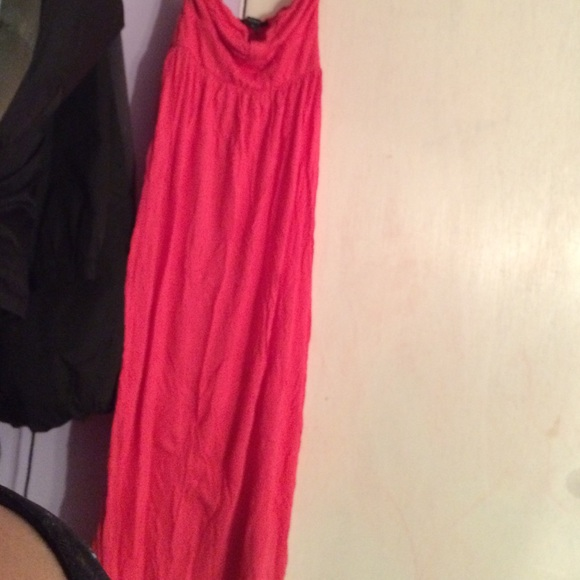 Forever 21 - Long coral summer dress from Anastasha's ...