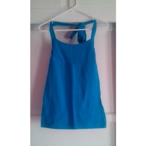 anchor blue  Tops - Anchor Blue Halter Top