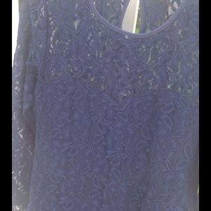 Alice & You Dresses & Skirts - Alice & You Blue Lace Fitted Dress NWOT