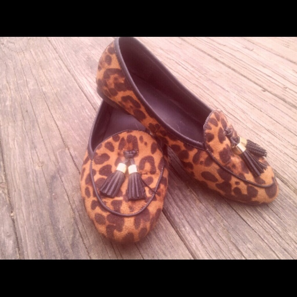 7754f451d882 Merona for Target cheetah print loafers. M_54de2cefa88e7d39480057d7
