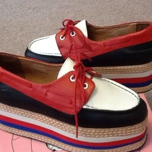 Jeffrey Campbell 7.5 Blk/white/red-Top Form $179