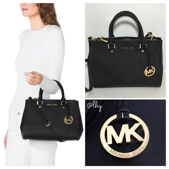 black and gray michael kors bag ya6d  M_54de4c83a88e7d39480065a2 Gallery Buy MICHAEL Michael Kors Women's Black