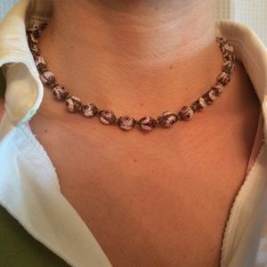 Accessories - Glass bead necklace