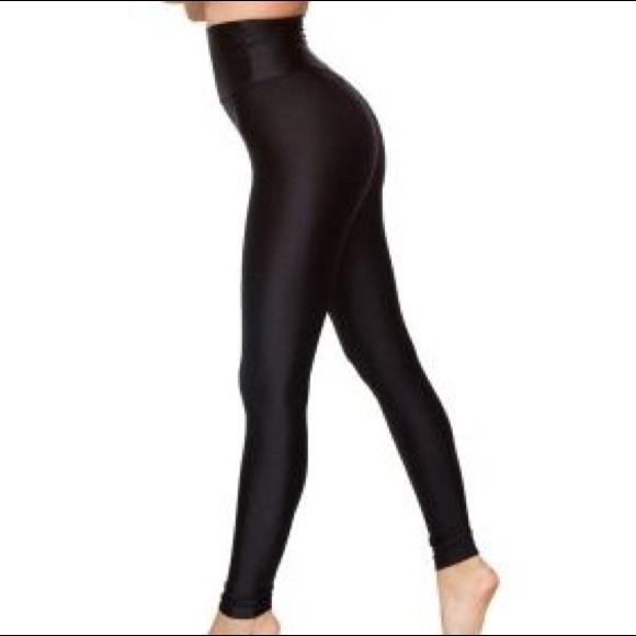 14a7a14fc181f5 American Apparel Pants - American Apparel High Waist Shiny Leggings
