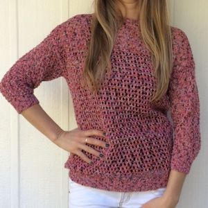 Anthropologie Sweaters - Pink sweater