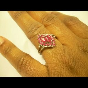 Natural Ruby Ring Sterling SilverJewelry