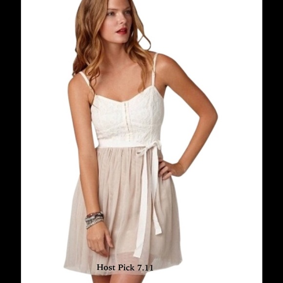 American Eagle Outfitters Dresses & Skirts | NWT AEO Blush Corset ...