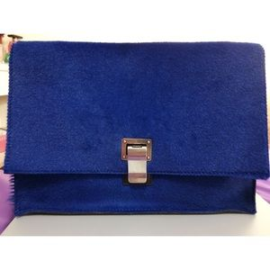 Proenza schouler small lunch bag shearling