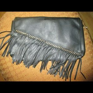 just fab Clutches & Wallets - Clutch with tassels