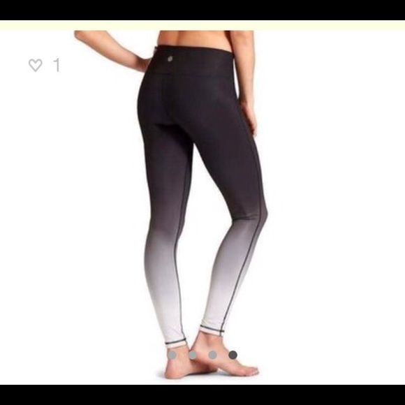 46% off Athleta Other - Athleta Chaturanga Ombre Workout Leggings ...
