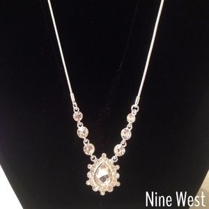 Nine West Jewelry - Beautiful Crystal Drop Statement Necklace