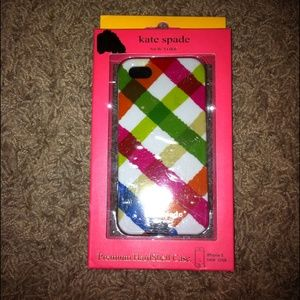 Authentic Kate Spade iPhone 5 case- new