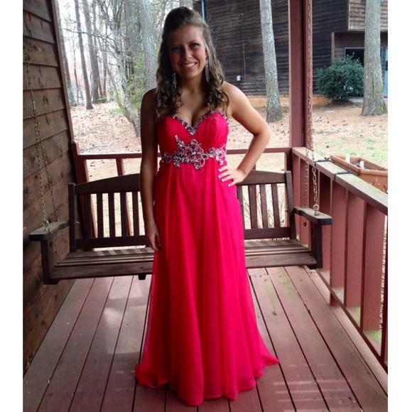 Alyce Paris Dresses | Prom Dress Size 4 Watermelon | Poshmark