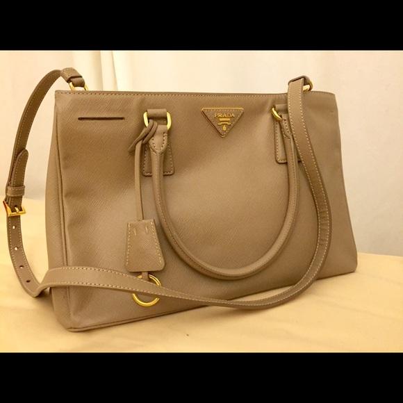 01cbc04925d8 Prada Bags | Saffiano Gardeners Tote Bag Greyargilla | Poshmark