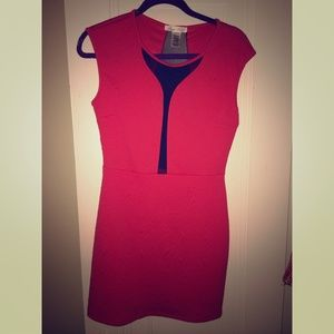 Red Mini Party Dress