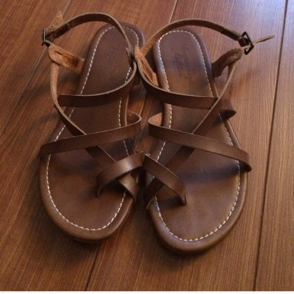 dc8e5a4fd073 Buy brown strappy sandals   Up to OFF62% Discounted